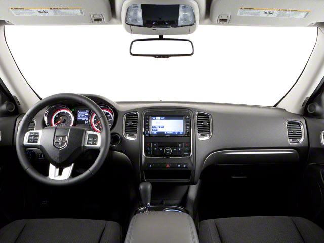 2012 Dodge Durango Prices and Values Utility 4D R/T 2WD full dashboard