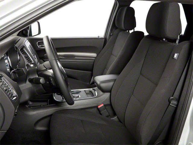 2012 Dodge Durango Prices and Values Utility 4D R/T 2WD front seat interior