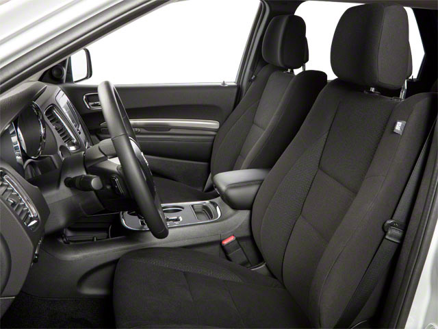 2012 Dodge Durango Prices and Values Utility 4D Heat 2WD front seat interior