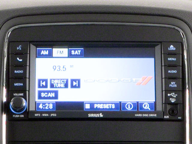 2012 Dodge Durango Prices and Values Utility 4D Heat 2WD stereo system