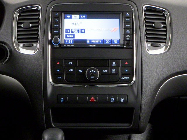 2012 Dodge Durango Prices and Values Utility 4D Heat 2WD center console