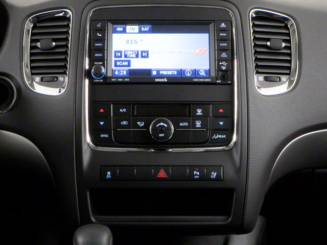 2012 Dodge Durango Prices and Values Utility 4D R/T 2WD center console