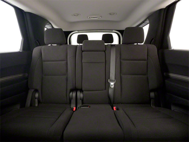 2012 Dodge Durango Prices and Values Utility 4D R/T 2WD backseat interior