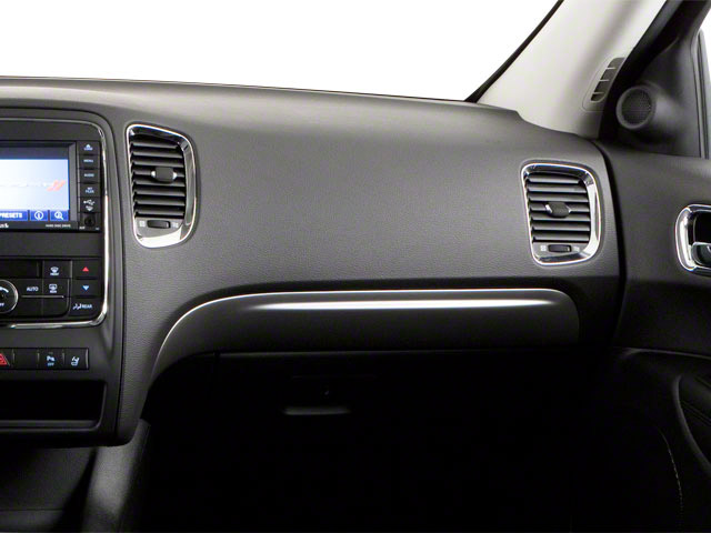 2012 Dodge Durango Prices and Values Utility 4D R/T 2WD passenger's dashboard