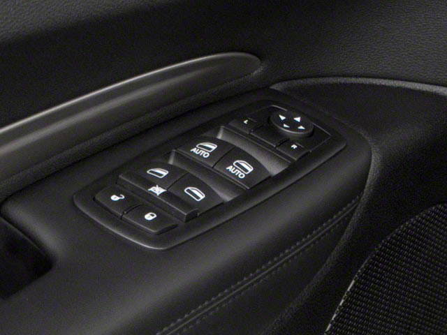 2012 Dodge Durango Prices and Values Utility 4D R/T 2WD driver's side interior controls