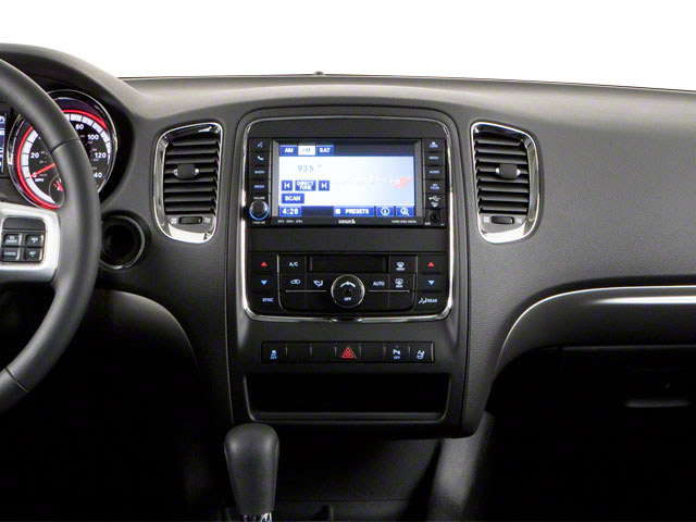2012 Dodge Durango Prices and Values Utility 4D R/T 2WD center dashboard