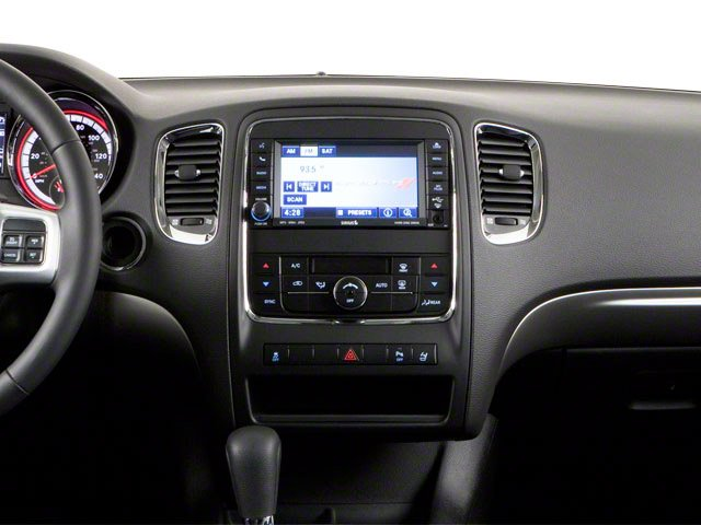 2012 Dodge Durango Prices and Values Utility 4D Heat 2WD center dashboard