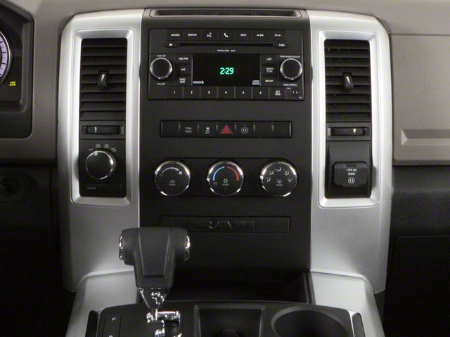 2012 Ram Truck 1500 Pictures 1500 Crew Cab Outdoorsman 2WD photos center console