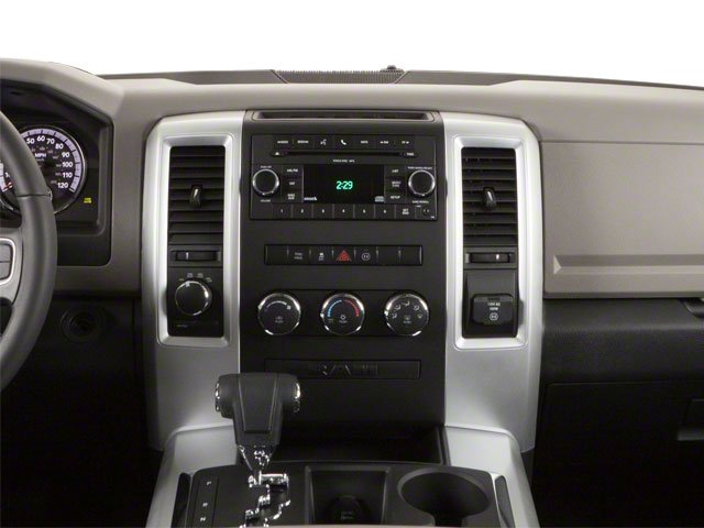 2012 Ram Truck 1500 Pictures 1500 Crew Cab Outdoorsman 4WD photos center dashboard