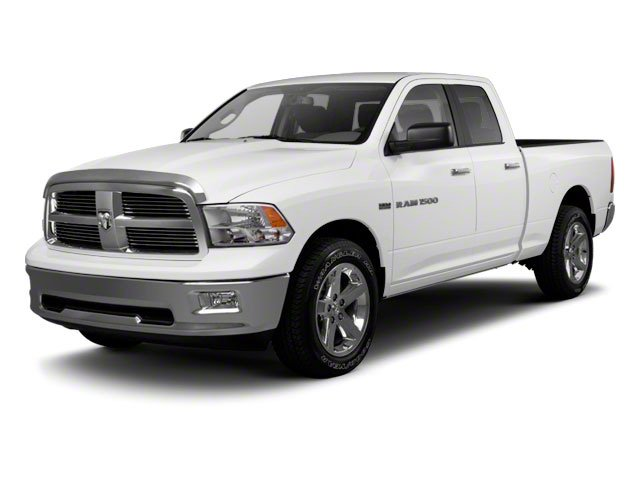 2012 Ram Truck 1500 Pictures 1500 Quad Cab SLT 4WD photos side front view