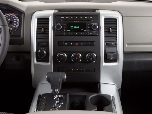 2012 Ram Truck 1500 Pictures 1500 Quad Cab SLT 4WD photos center console