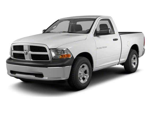 2012 Ram Truck 1500 Pictures 1500 Regular Cab Tradesman 4WD photos side front view
