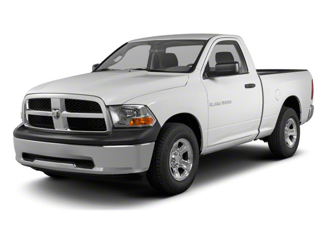 2012 Ram Truck 1500 Pictures 1500 Regular Cab SLT 2WD photos side front view
