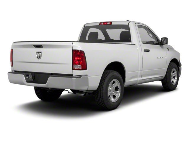 2012 Ram Truck 1500 Pictures 1500 Regular Cab SLT 2WD photos side rear view