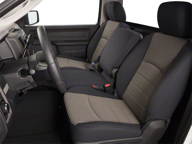 2012 Ram Truck 1500 Pictures 1500 Regular Cab Tradesman 4WD photos front seat interior