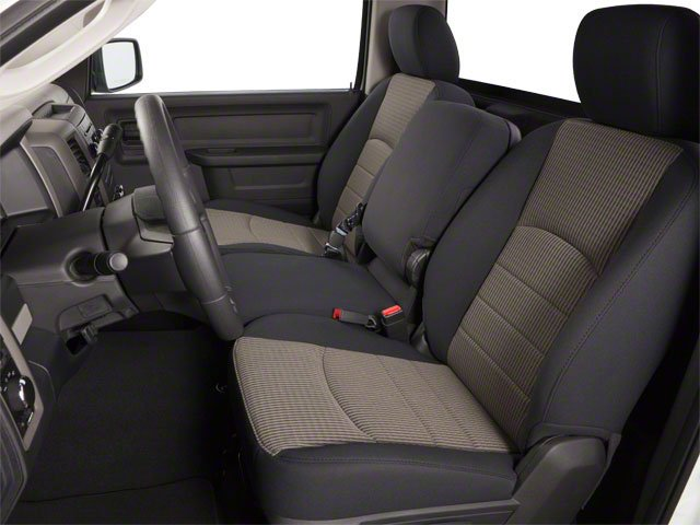 2012 Ram Truck 1500 Pictures 1500 Regular Cab SLT 2WD photos front seat interior