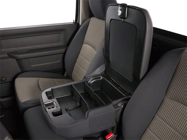 2012 Ram Truck 1500 Pictures 1500 Regular Cab Tradesman 4WD photos center storage console
