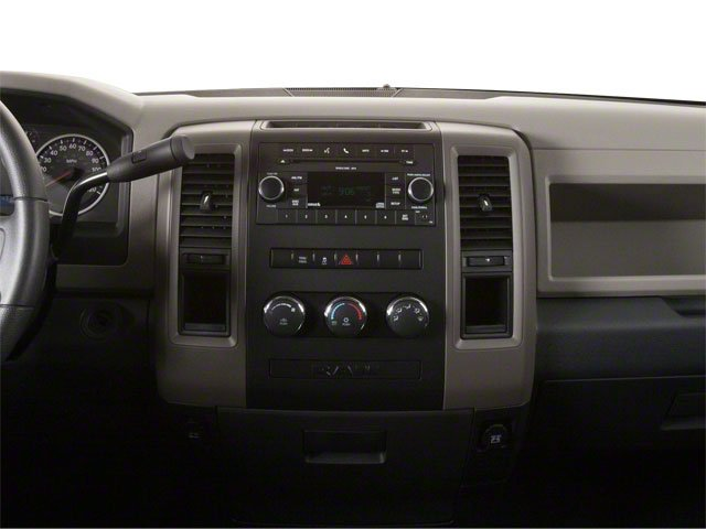 2012 Ram Truck 1500 Pictures 1500 Regular Cab Tradesman 4WD photos center dashboard