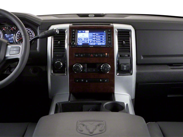 2012 Ram Truck 2500 Prices and Values Mega Cab Limited 2WD center dashboard