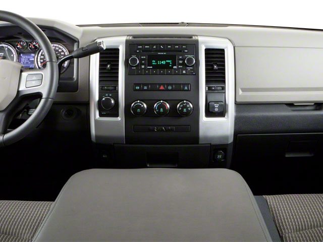 2012 Ram Truck 2500 Prices and Values Crew Cab Limited 4WD center dashboard