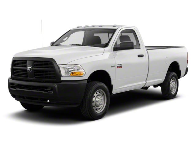 2012 Ram Truck 2500 Prices and Values Regular Cab ST 4WD side front view