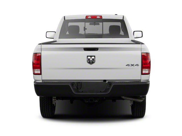 2012 Ram Truck 2500 Prices and Values Regular Cab SLT 2WD rear view