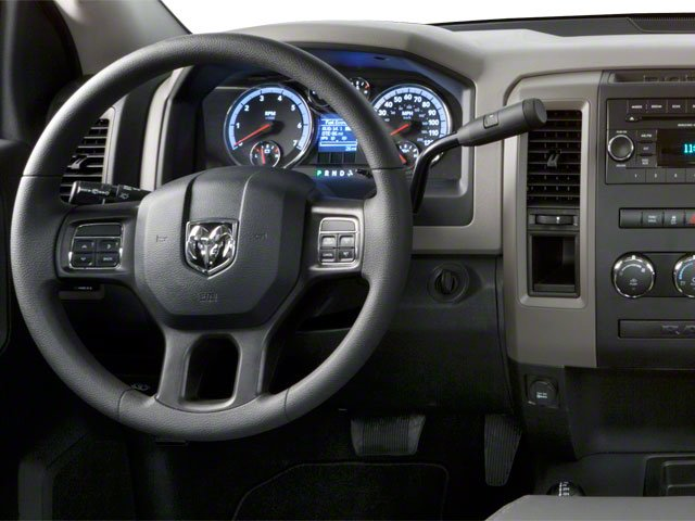 2012 Ram Truck 2500 Prices and Values Regular Cab ST 4WD driver's dashboard