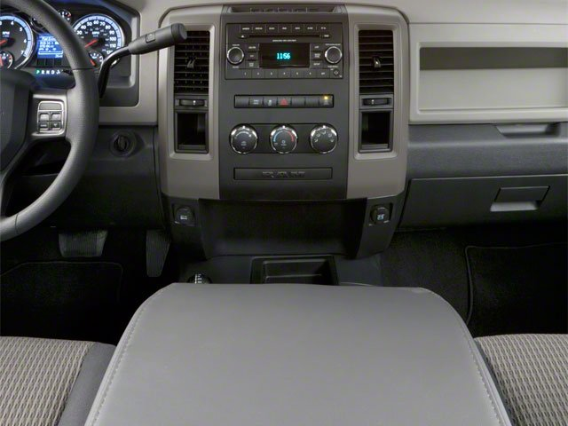 2012 Ram Truck 2500 Prices and Values Regular Cab ST 4WD center console