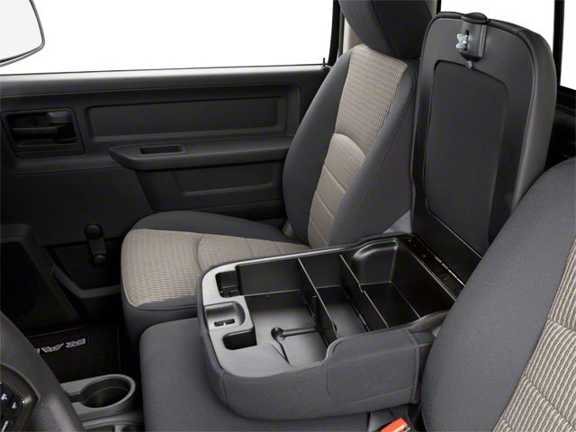 2012 Ram Truck 2500 Prices and Values Regular Cab ST 4WD center storage console
