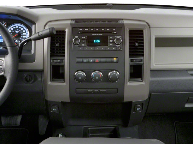 2012 Ram Truck 2500 Prices and Values Regular Cab SLT 2WD center dashboard