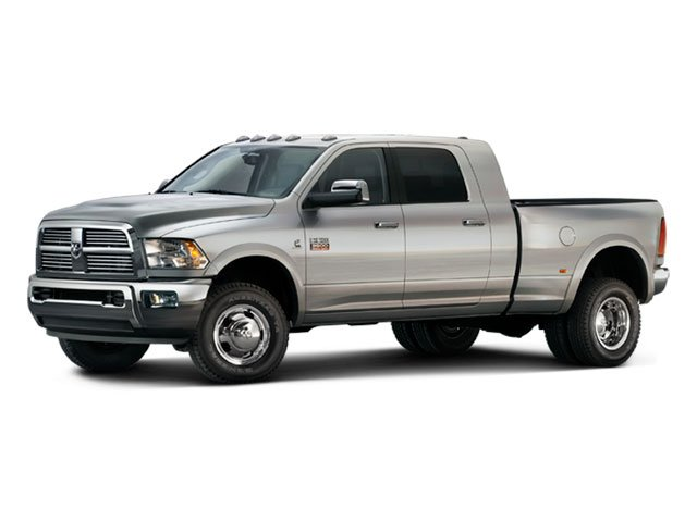 2012 Ram Truck 3500 Prices and Values Mega Cab Longhorn 2WD side front view