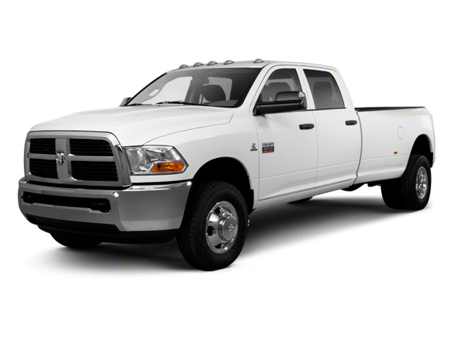 2012 Ram Truck 3500 Prices and Values Crew Cab Outdoorsman 2WD T-Diesel side front view