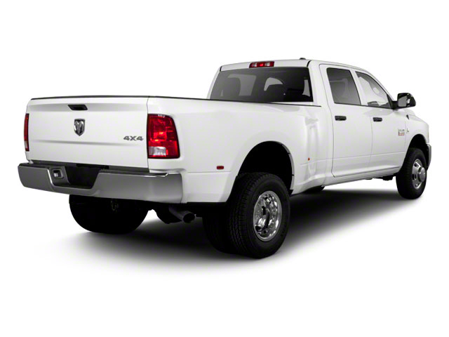 2012 Ram Truck 3500 Prices and Values Crew Cab Outdoorsman 2WD T-Diesel side rear view