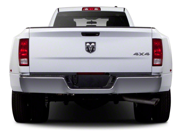2012 Ram Truck 3500 Prices and Values Crew Cab Laramie 4WD rear view