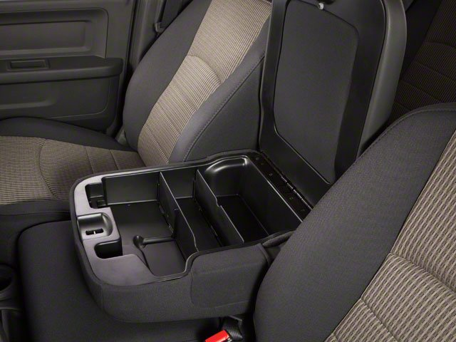 2012 Ram Truck 3500 Prices and Values Crew Cab Outdoorsman 2WD T-Diesel center storage console