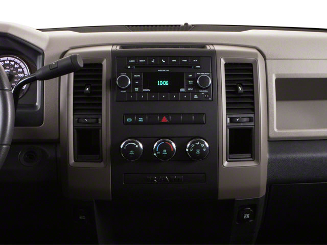 2012 Ram Truck 3500 Prices and Values Crew Cab Outdoorsman 2WD T-Diesel center dashboard