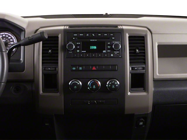 2012 Ram Truck 3500 Prices and Values Crew Cab Laramie 4WD center dashboard