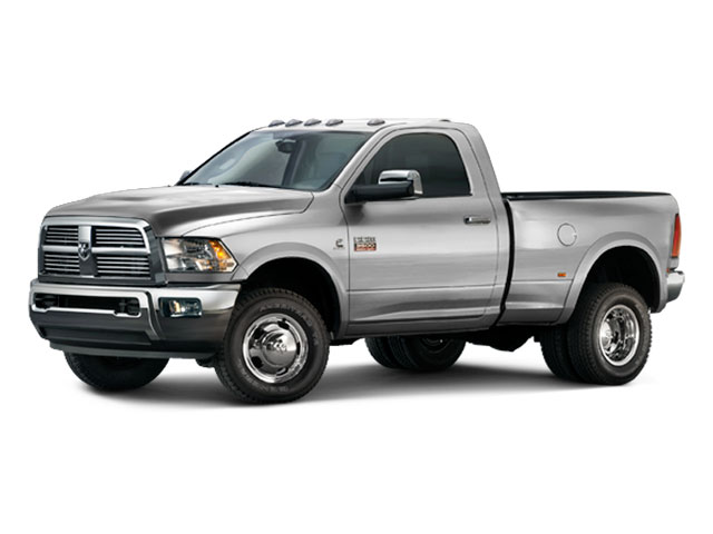 2012 Ram Truck 3500 Pictures 3500 Regular Cab SLT 2WD photos side front view