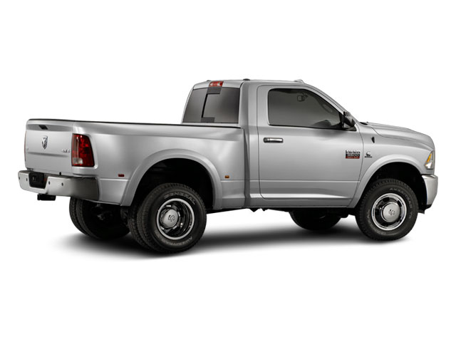 2012 Ram Truck 3500 Prices and Values Regular Cab ST 4WD side rear view