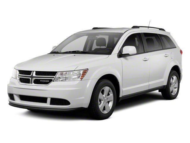 2012 Dodge Journey Prices and Values Utility 4D SXT 2WD side front view