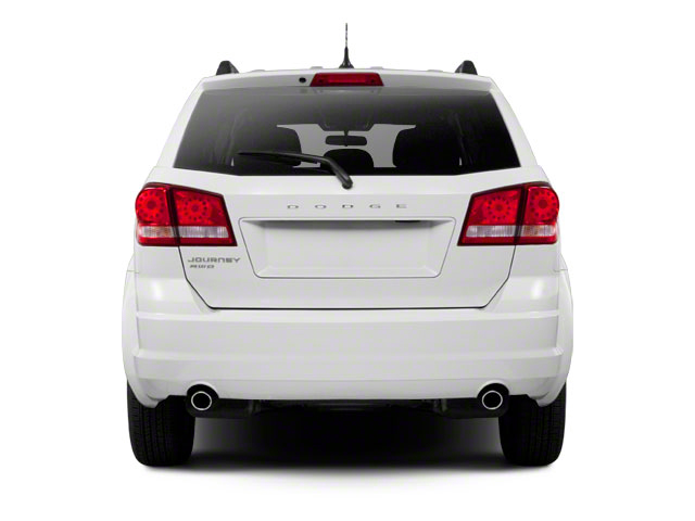 2012 Dodge Journey Prices and Values Utility 4D SXT 2WD rear view