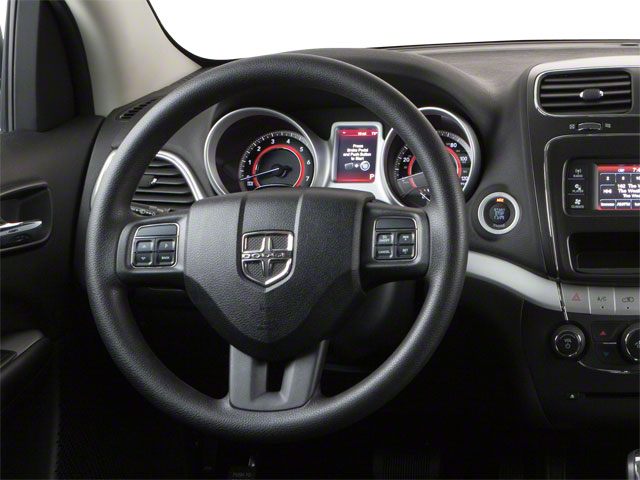2012 Dodge Journey Prices and Values Utility 4D SXT 2WD driver's dashboard