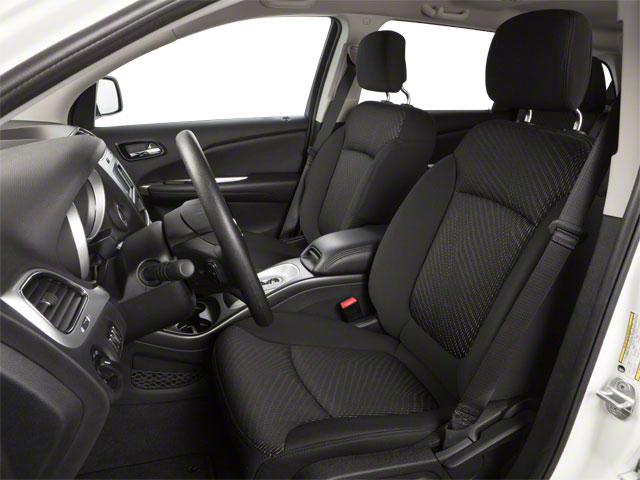 2012 Dodge Journey Prices and Values Utility 4D SXT 2WD front seat interior