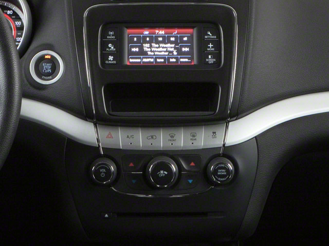 2012 Dodge Journey Prices and Values Utility 4D SXT 2WD stereo system