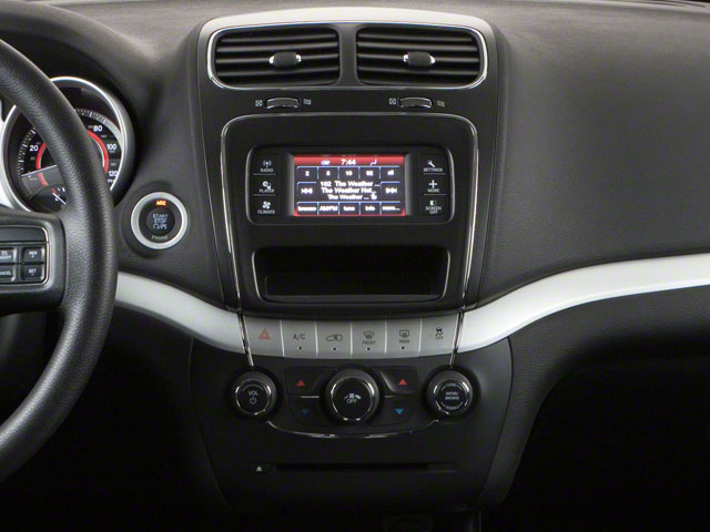 2012 Dodge Journey Prices and Values Utility 4D SXT 2WD center console