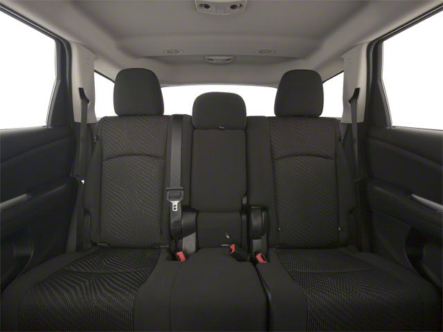 2012 Dodge Journey Prices and Values Utility 4D Crew 2WD backseat interior