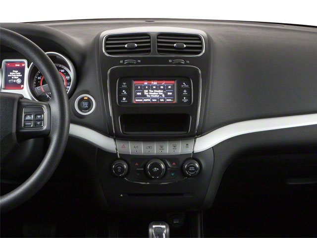 2012 Dodge Journey Prices and Values Utility 4D SXT 2WD center dashboard
