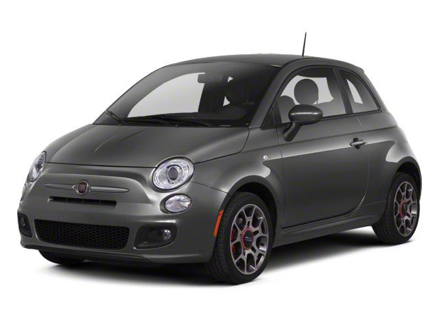 2012 FIAT 500 Prices and Values Hatchback 3D Lounge side front view