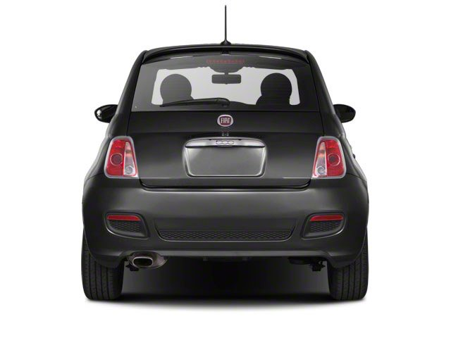 2012 FIAT 500 Prices and Values Hatchback 3D Abarth rear view