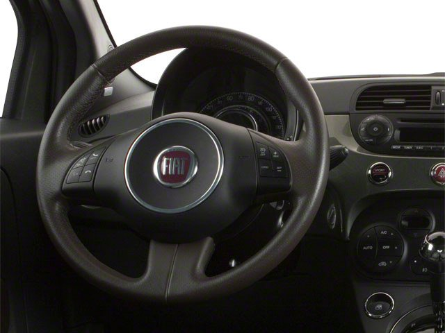 2012 FIAT 500 Prices and Values Hatchback 3D Abarth driver's dashboard
